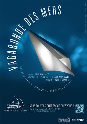 Affiche du spectacle Vagabonde des mers